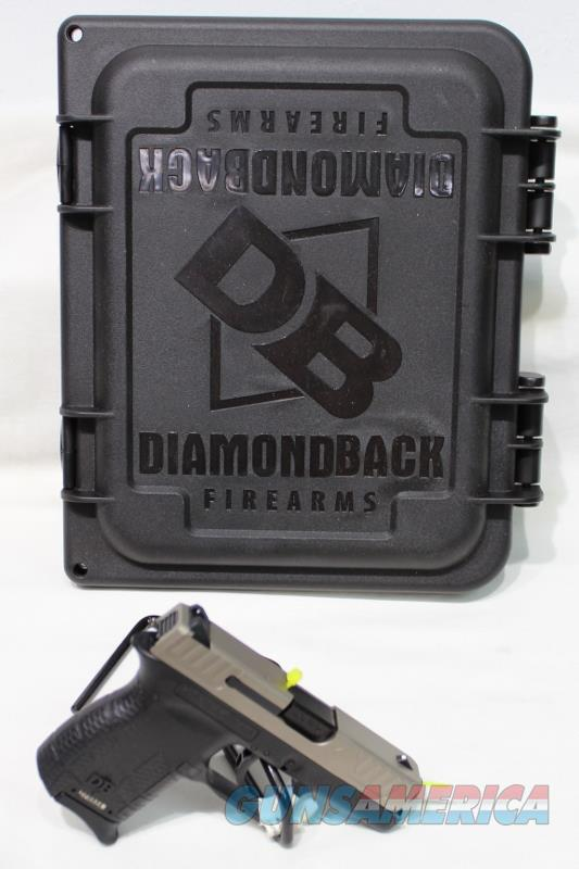 Diamondback DB380EX 380acp two tone NEW silver   Guns > Pistols > Diamondback Pistols