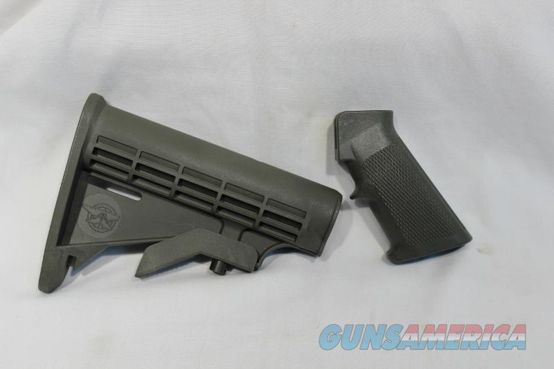 AR15 M16 stock & pistol grip OD green AR-15 AR Anvil Arms NEW  Non-Guns > Gunstocks, Grips & Wood