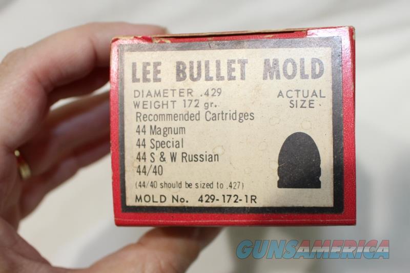 Lee 575 285 gr bullet mold round ball new black powder  Non-Guns > Black Powder Cartridge