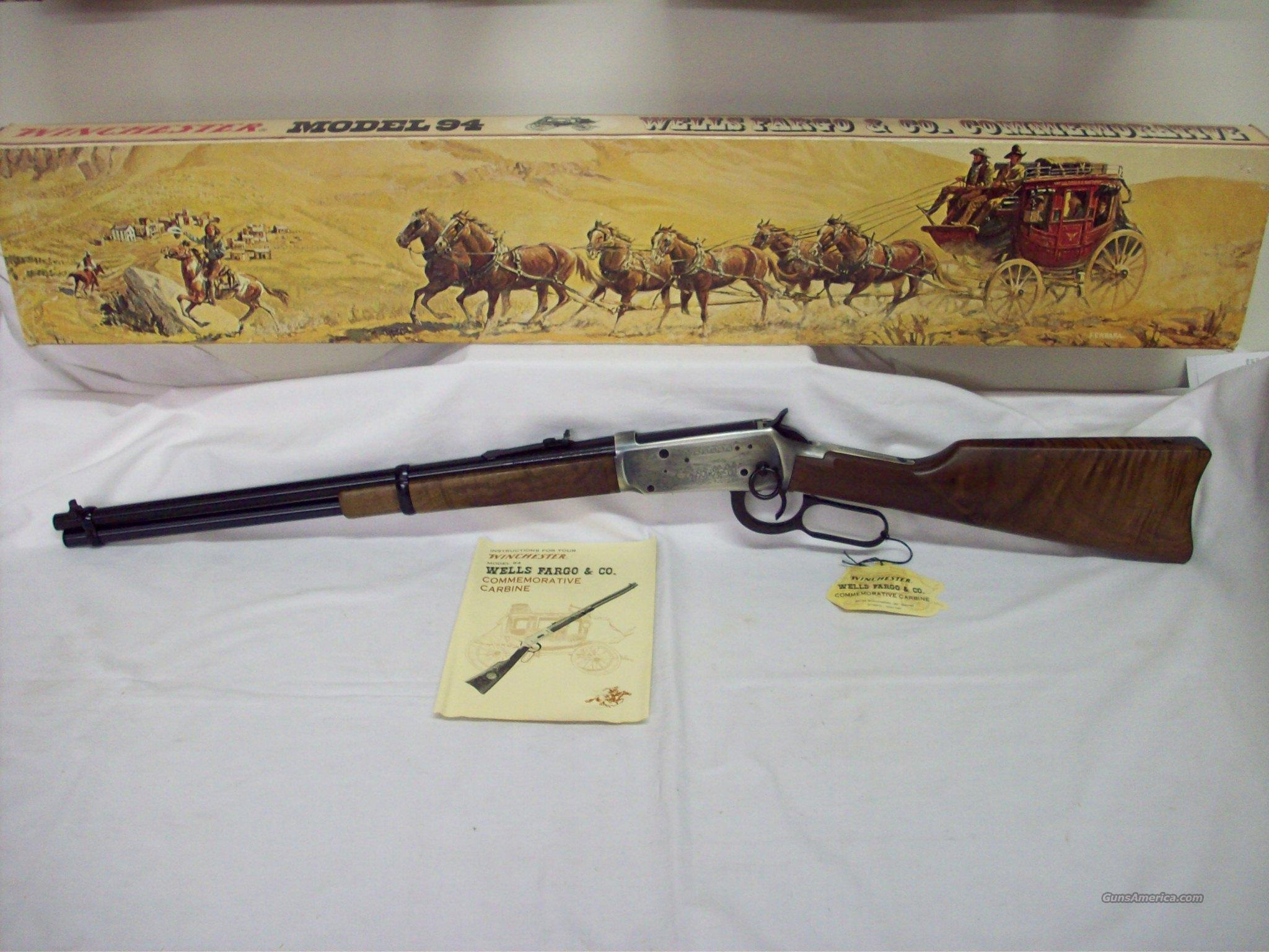 Winchester 94 Wells Fargo  Guns > Rifles > Winchester Rifle Commemoratives