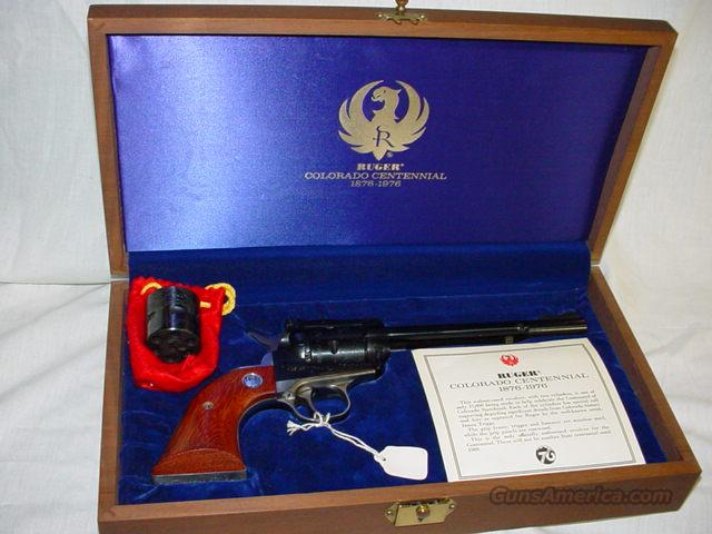 Ruger Colorado Centennial  Guns > Pistols > Ruger Single Action Revolvers > Single Six Type