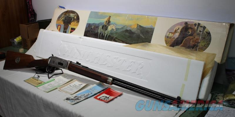 Winchester 94 Legendary Frontiersmen 38-55 1979 NEW  Guns > Rifles > Winchester Rifle Commemoratives