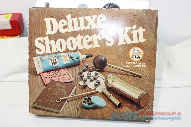 CVA deluxe shooter kit 58 percussion NEW  Non-Guns > Black Powder Muzzleloading