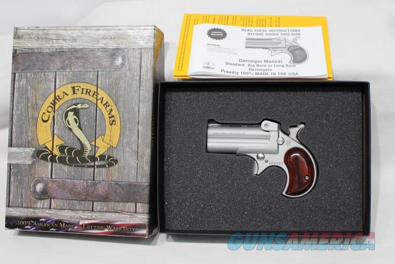 Cobra C22MSR 22mag satin derringer NEW  Guns > Pistols > Cobra Derringers