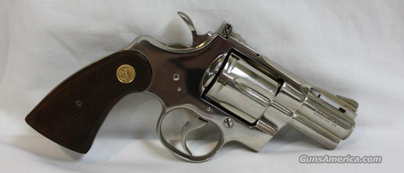 "Colt Python 2.5"" nickel 357 mag  Guns > Pistols > Colt Double Action Revolvers- Modern"