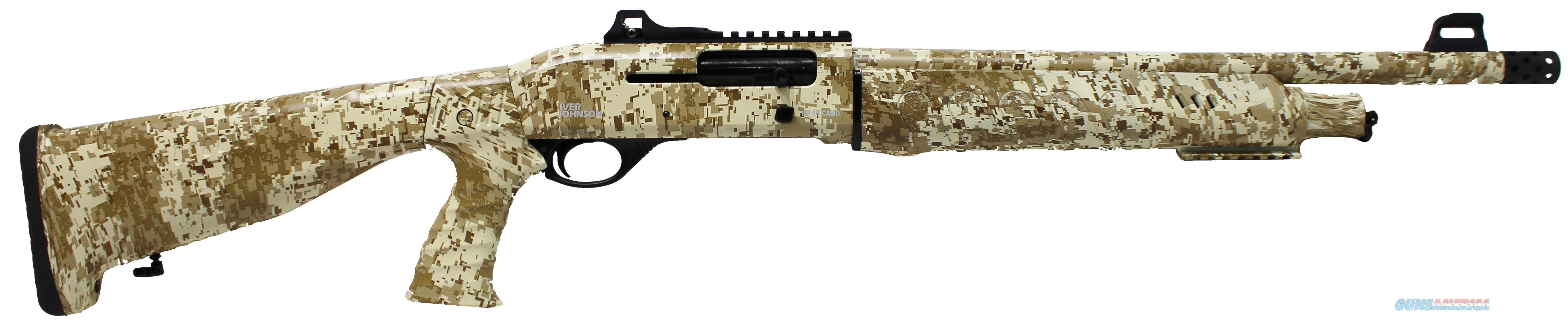 Iver Johnson Arms HP18 12ga Semi digital tan camo NEW  Guns > Shotguns > Iver Johnson Shotguns