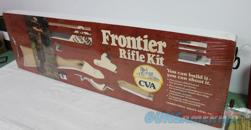 CVA frontier mountain rifle kit 50 cal NIB percussion KA736 black powder NEW not TC  Non-Guns > Black Powder Muzzleloading