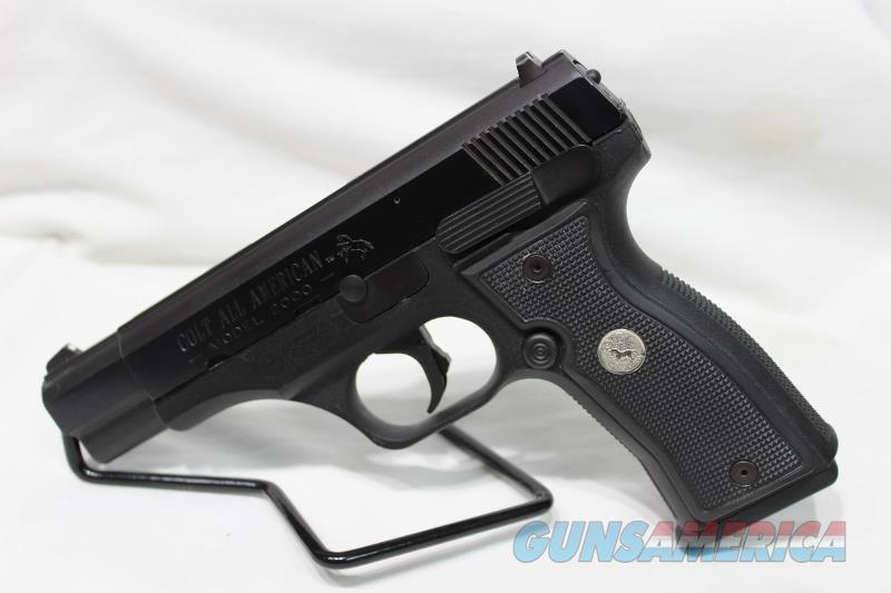 Colt All American 2000 9mm used  Guns > Pistols > Colt Automatic Pistols (1911 & Var)