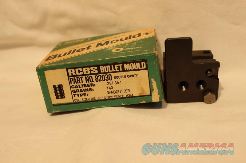 RCBS 38spl  357 mag 140gr wadcutter bullet mold  Non-Guns > Bullet Making Supplies