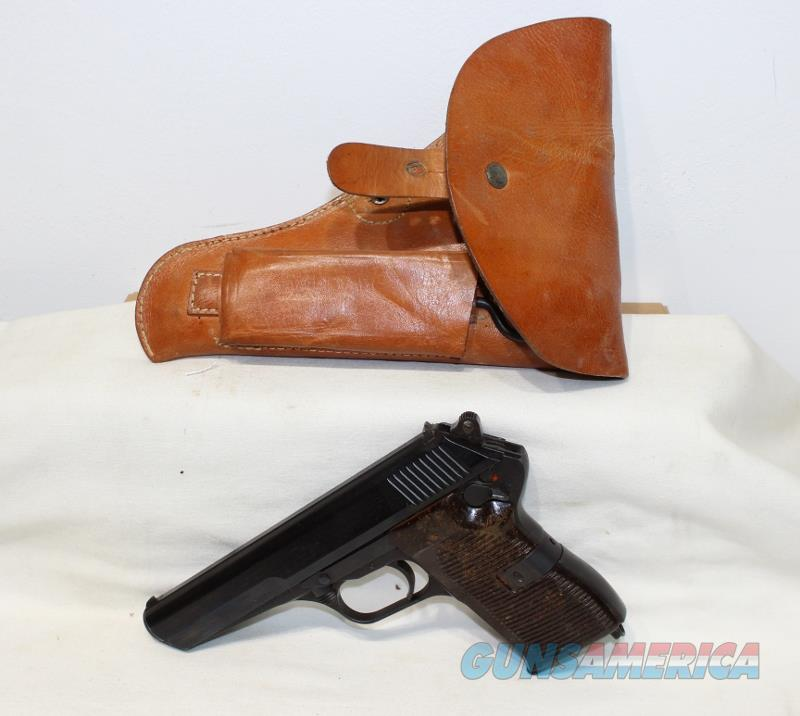 CZ 52 7.62x25 with holster as NEW  Guns > Pistols > CZ Pistols