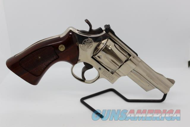"""S&W 27-2 357mag 4"""" Nickel used with box  Guns > Pistols > Smith & Wesson Revolvers > Full Frame Revolver"""