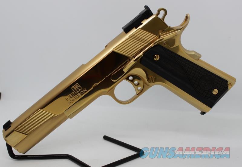 Iver Johnson Golden Eagle XL 10mm NEW  Guns > Pistols > Iver Johnson Pistols