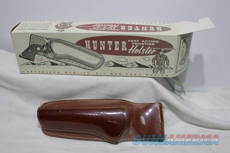 "Hunter cowboy fast action frontier holster 1060 LH Ruger 6.5"" rssm NEW  Non-Guns > Holsters and Gunleather > Cowboy"