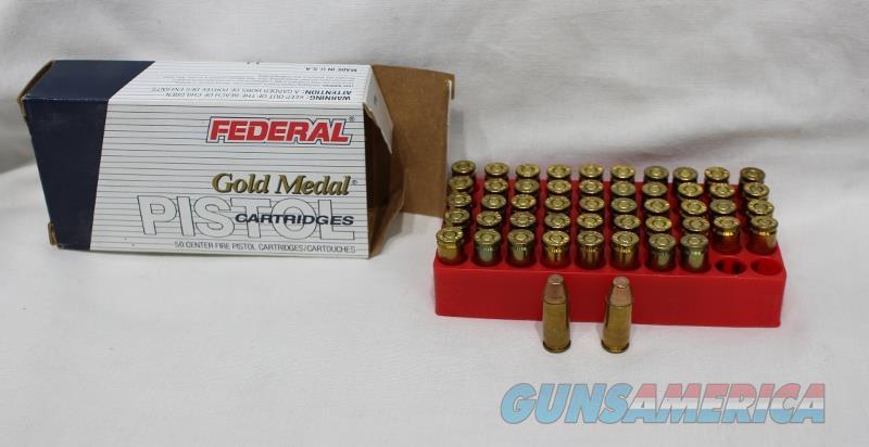 Federal 356 TSW 147gr Gold Medal match 50rds NEW  Non-Guns > Ammunition