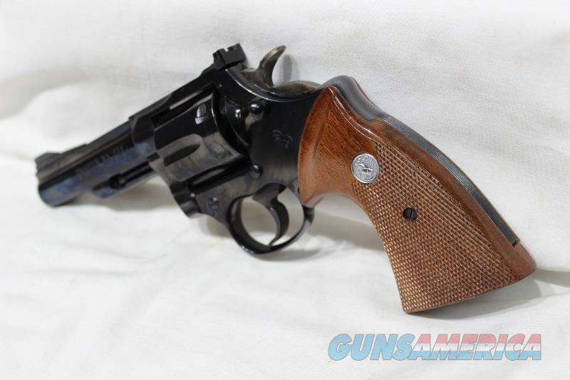 "Colt Trooper 357mag MKIII blue 4"" not python USED  Guns > Pistols > Colt Double Action Revolvers- Modern"