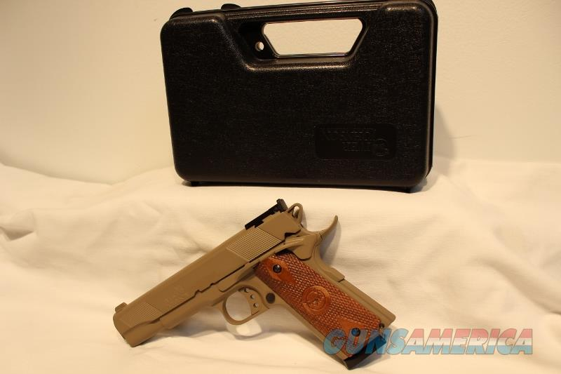 Iver Johnson Eagle 1911A1 style 45acp Coyote Tan AS NEW  Guns > Pistols > 1911 Pistol Copies (non-Colt)