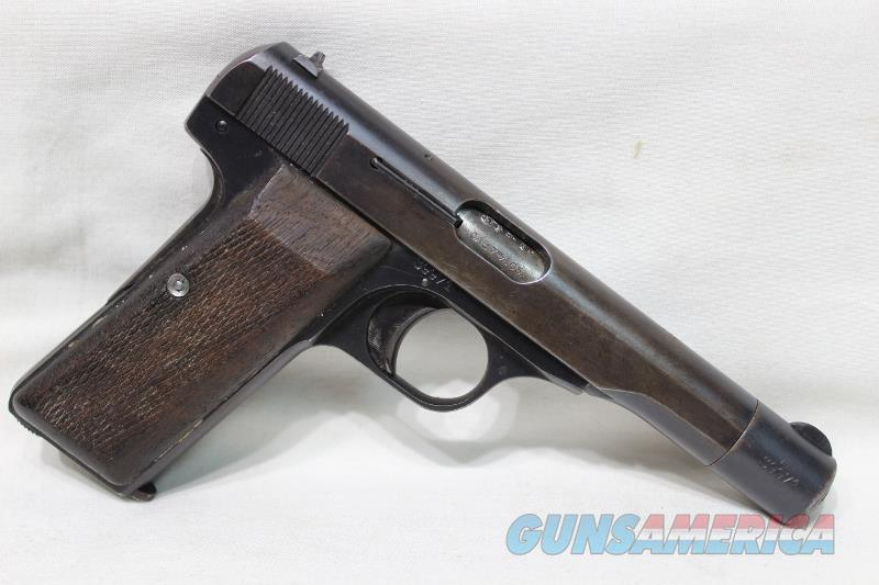 FN Browning D Armes Herstal 1922 #8 police used  Guns > Pistols > Browning Pistols > Other Autos