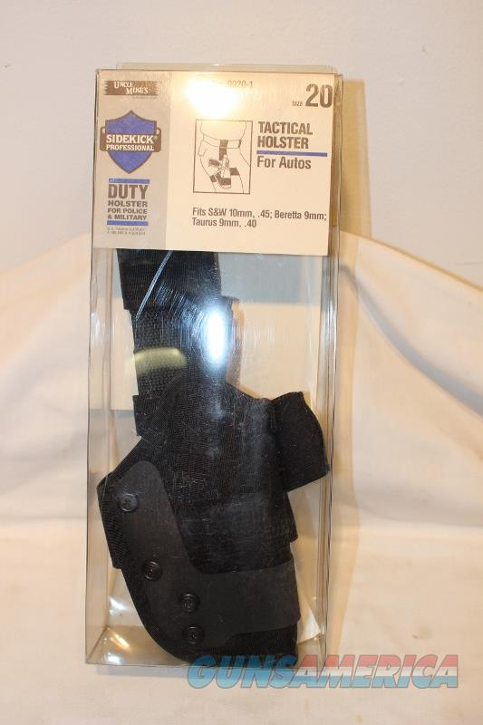 Uncle MIke sidekick #9920-1 holster S&W 1006 Beretta 92 Taurus PT92  Non-Guns > Holsters and Gunleather > Police Belts/Holsters