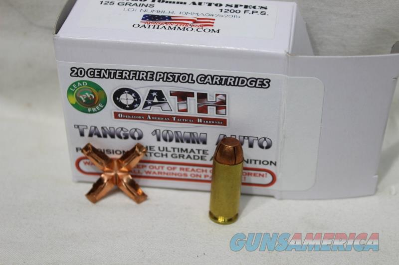Oath 10mm Tango NEW not black talon  Non-Guns > Ammunition
