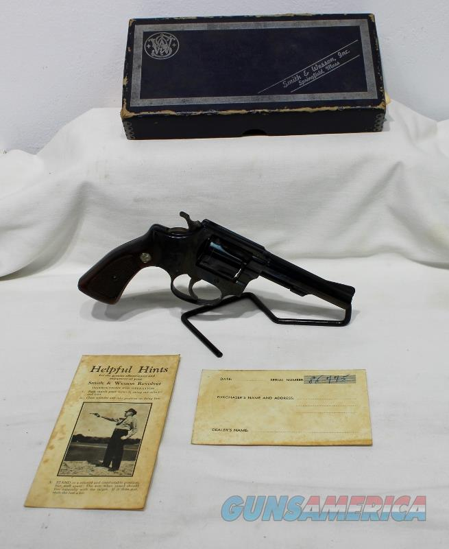 "S&W 33 Regulation Police 38 S&W 4"" with box USED  Guns > Pistols > Smith & Wesson Revolvers > Small Frame ( J )"