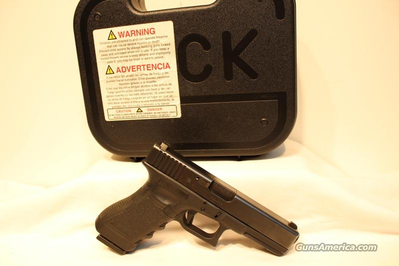Glock 22 trijicon night sights 40sw used gen 3 3 15rd mags  Guns > Pistols > Glock Pistols > 22