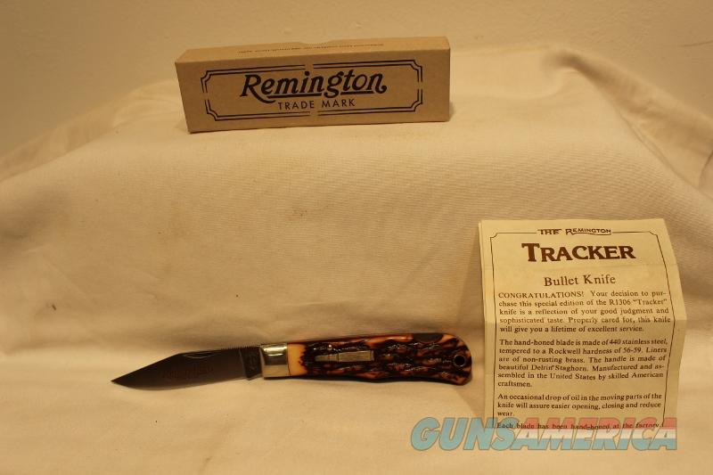 Remington R1306 Tracker 1990 knife new NOS  Non-Guns > Knives/Swords > Knives > Folding Blade > Hand Made