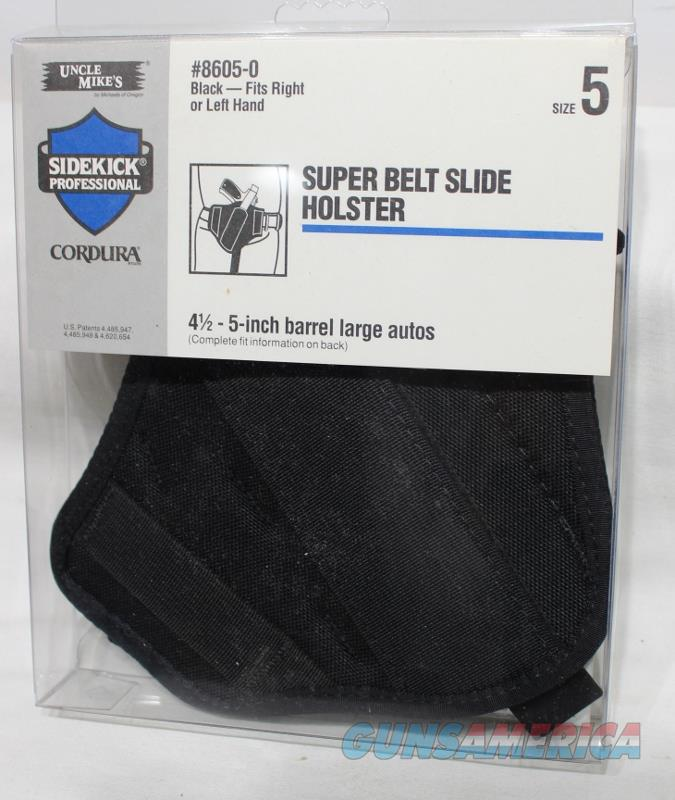 Uncle Mikes super slide 8605-0 1911 holster new  Non-Guns > Holsters and Gunleather > Concealed Carry