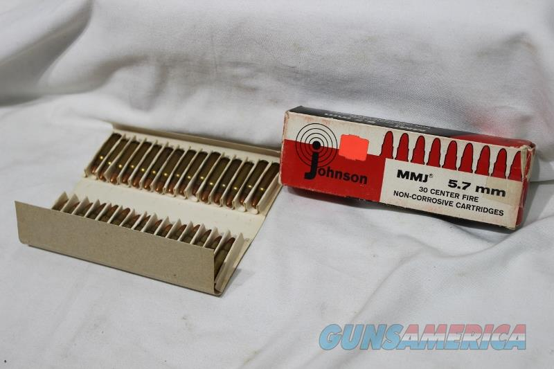 5.7 Johnson ammo 30 rds NC  Non-Guns > Ammunition