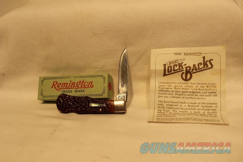 Remington Baby Bullet R1173L NIB 1984 knife NOS  Non-Guns > Knives/Swords > Knives > Folding Blade > Hand Made