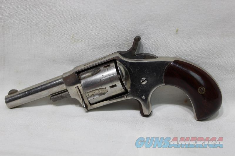 Hopkins & Allen Ranger #2 32 rimfire revolver used  Guns > Pistols > Hopkins & Allen Pistols