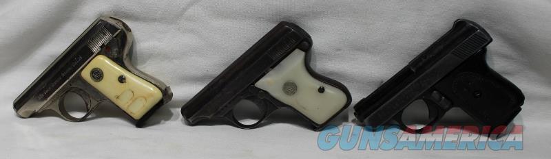 Galesi RG 25acp pistol lot 3 guns USED  Guns > Pistols > R Misc Pistols