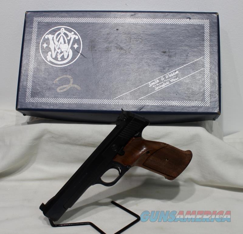 "S&W 41 5.5"" 22LR heavy barrel USED  Guns > Pistols > Smith & Wesson Pistols - Autos > .22 Autos"