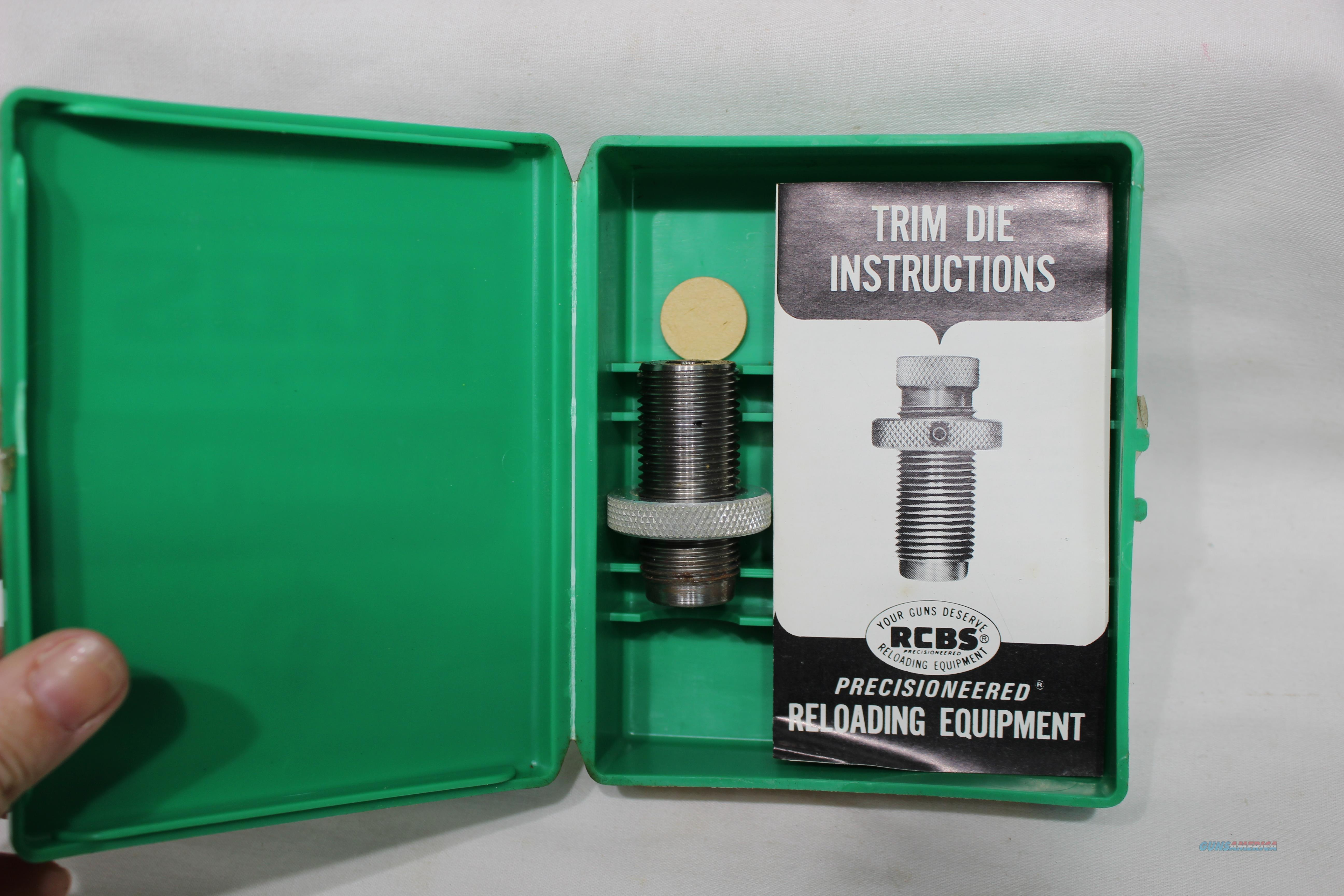 RCBS 350 rem mag trim die NEW  Non-Guns > Reloading > Equipment > Metallic > Dies