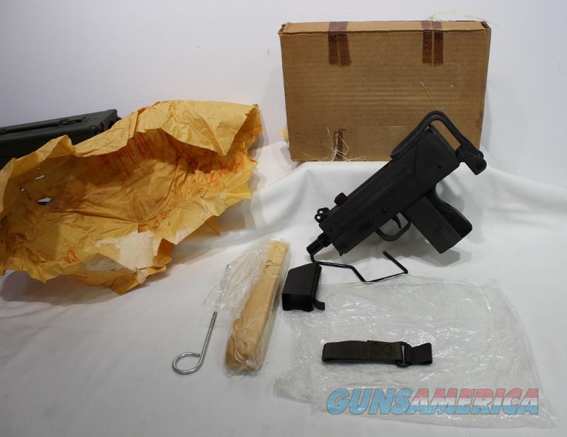 Ingram MAC 10 45acp full auto NEW powder springs transferable suppressor  Guns > Pistols > Class 3 Pistols > Class 3 Subguns