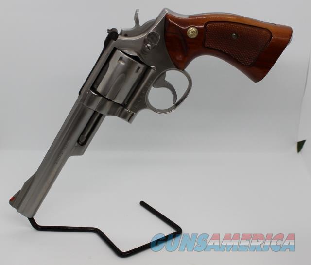 "S&W 66 6"" RISP 357 mag Goncalo Alves USED police issued  Guns > Pistols > Smith & Wesson Revolvers > Full Frame Revolver"
