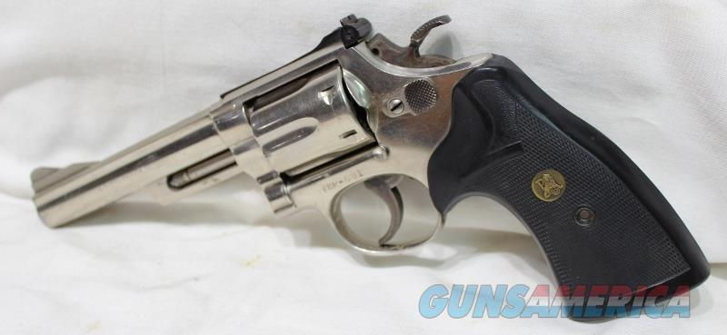 "S&W 19-2 357mag FHP issue Nickel 5"" used  Guns > Pistols > Smith & Wesson Revolvers > Med. Frame ( K/L )"
