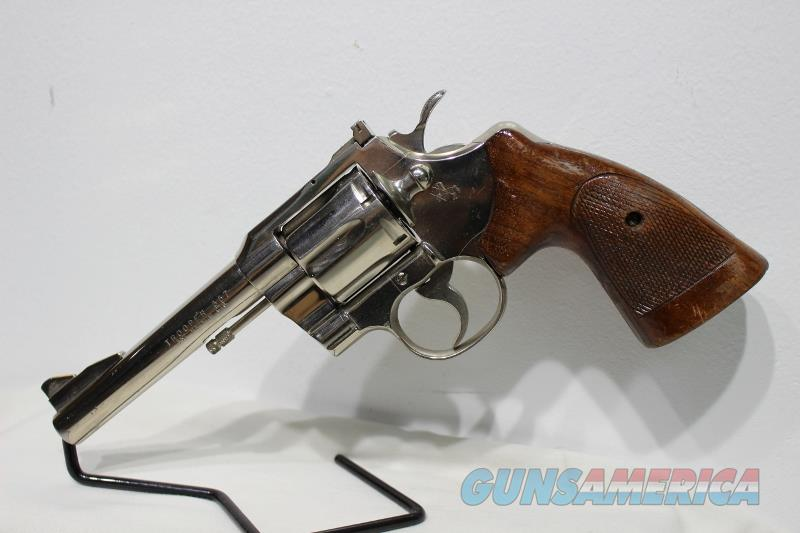 Colt Trooper 357mag  5 inch nickel FHP  not python USED  Guns > Pistols > Colt Double Action Revolvers- Modern