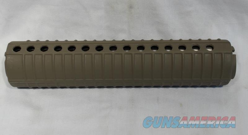 AR15 M16 tan handguard forend AR-15 M-16 NEW ventilated   Non-Guns > Gun Parts > M16-AR15