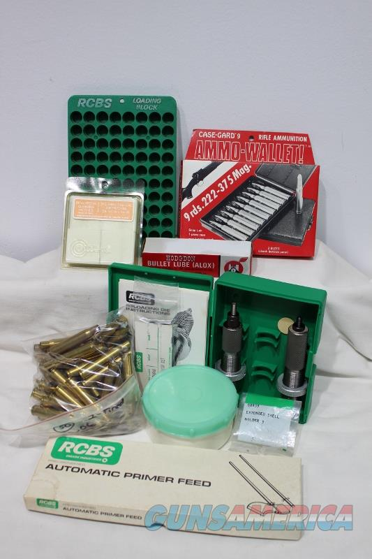 RCBS 30-06 die set brass patches #14801 A reloading package  Non-Guns > Reloading > Equipment > Metallic > Dies