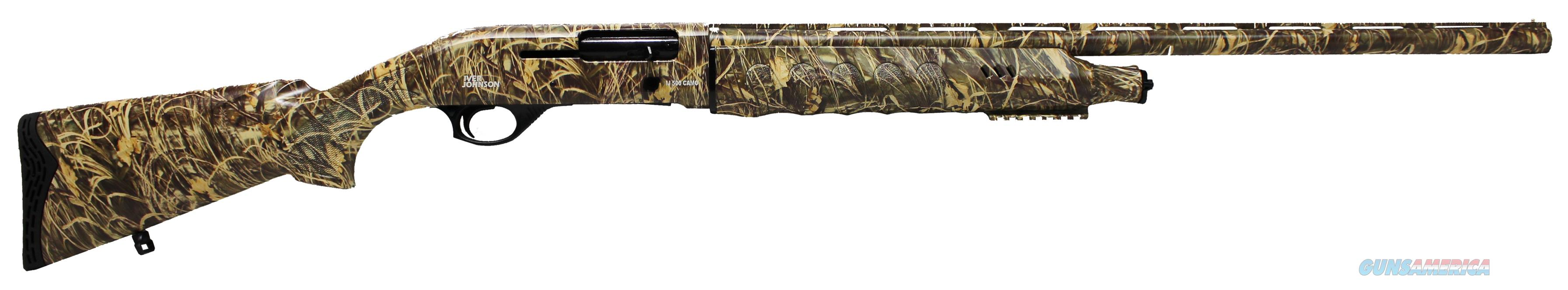 Iver Johnson Arms IJ500 12ga Max4 camo semi NEW  Guns > Shotguns > Iver Johnson Shotguns