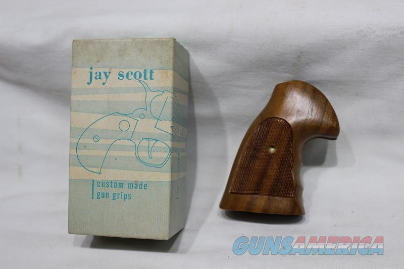 JaY Scott Colt Gunfighter oversized grips wood new  Non-Guns > Gunstocks, Grips & Wood