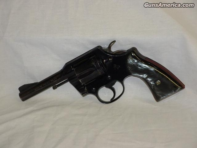Colt Mk III 38spl Official Police  Guns > Pistols > Colt Double Action Revolvers- Modern