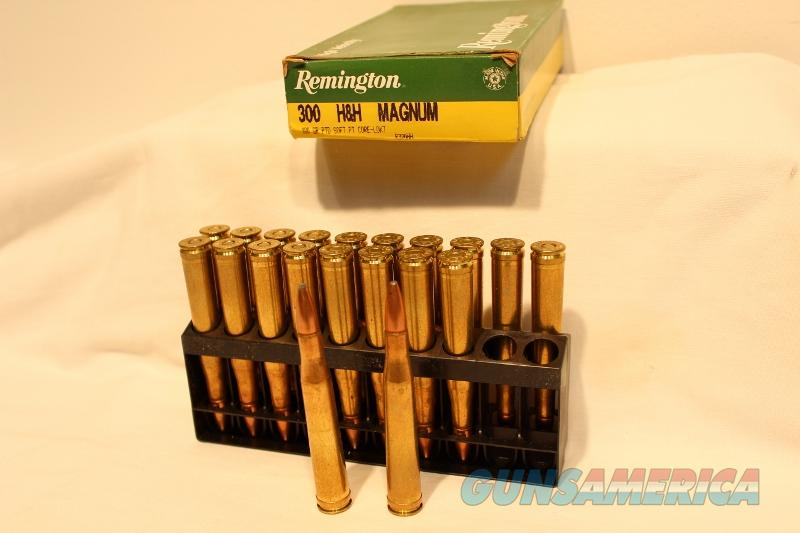 Remington 300 H&H mag 180gr PSP  Non-Guns > Ammunition