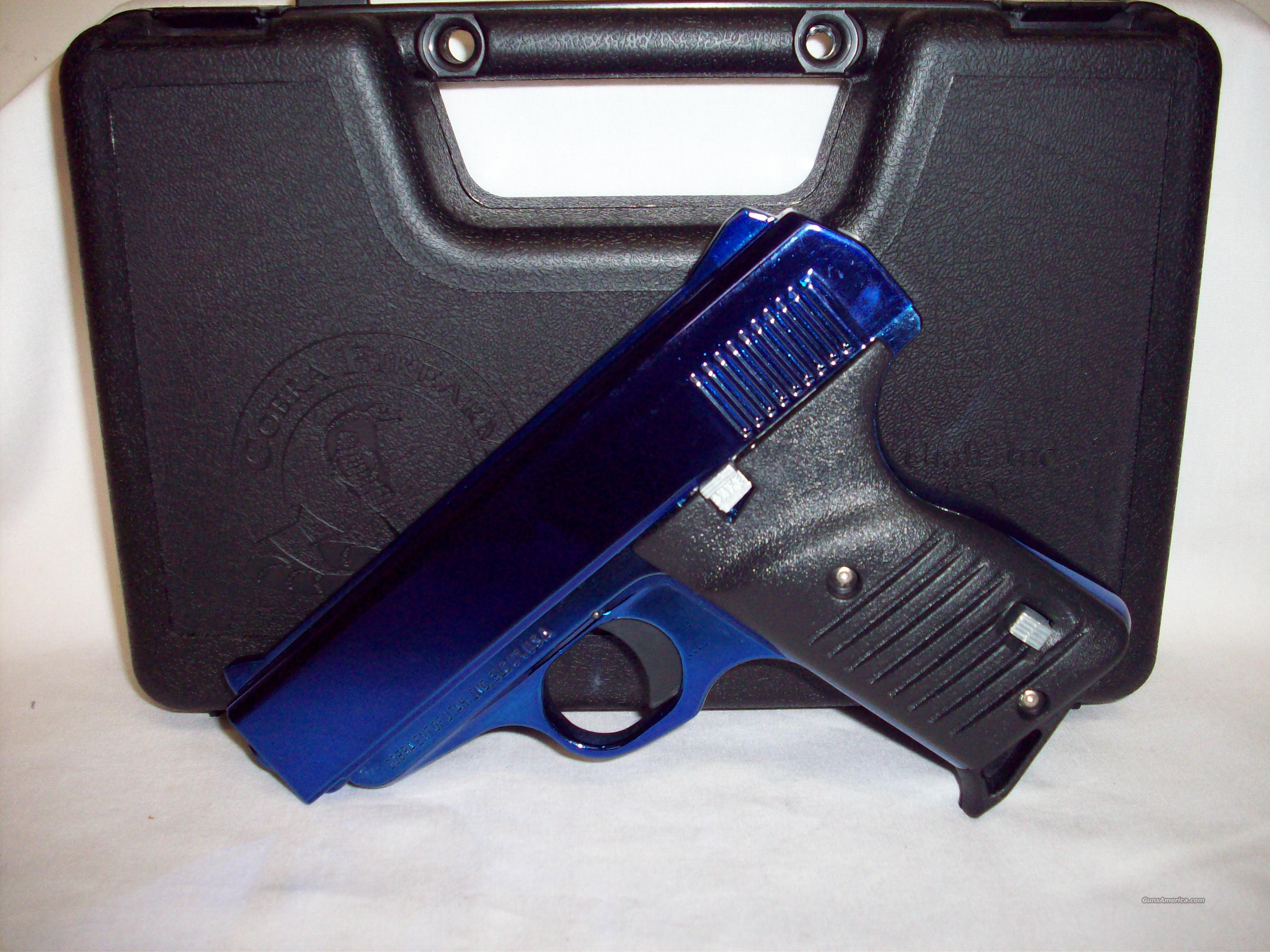 Cobra 380acp blue FS380RBB   Guns > Pistols > Cobra Derringers