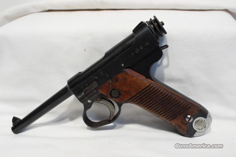 Japanese Type 14 Nambu 8mm Nambu blue USED 1941  Guns > Pistols > Military Misc. Pistols Non-US