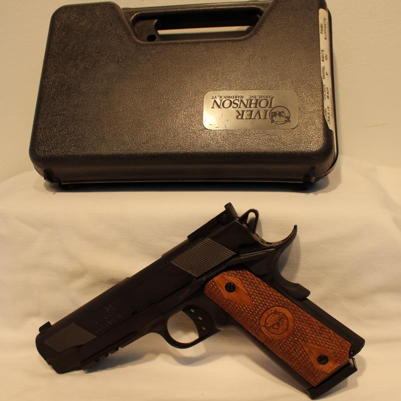 Iver Johnson Eagle LR 1911A1 style As New  Guns > Pistols > Iver Johnson Pistols