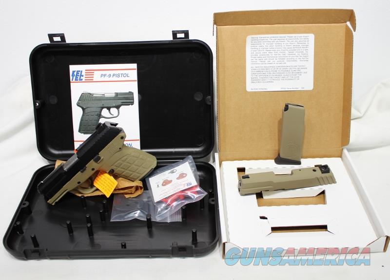 Kel Tec PF-9 9mm black tan 22LR conversion kit NEW  Guns > Pistols > Kel-Tec Pistols > Pocket Pistol Type
