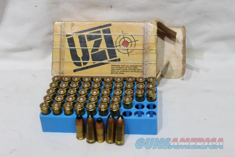 Uzi 9mm Carbine 115gr FMJ ammo 50rds NEW  Non-Guns > Ammunition