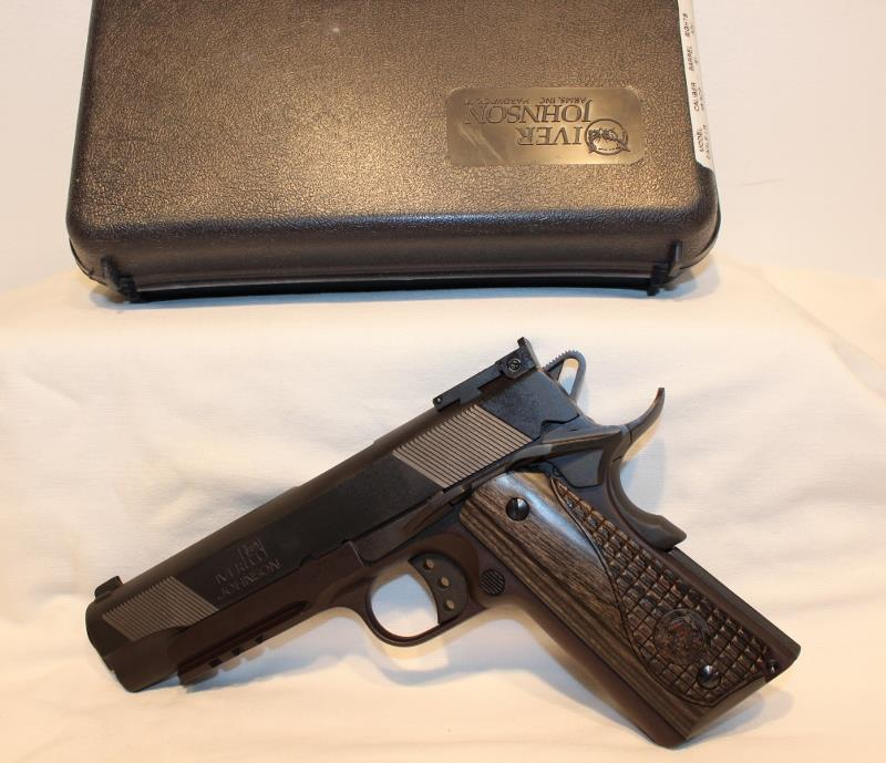 Iver Johnson Eagle LR 45acp 1911A1 style as NEW  Guns > Pistols > Iver Johnson Pistols