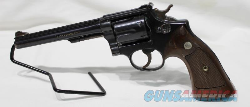 "S&W k22 Masterpiece post war 22LR 1948 6"" USED pre K22  Guns > Pistols > Smith & Wesson Revolvers > Med. Frame ( K/L )"